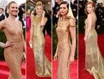 Met Gala 2015 Trends: Candice Swanepoel, Kate Hudson, Anne Hathaway and Jessica Chastain. Picture: Getty