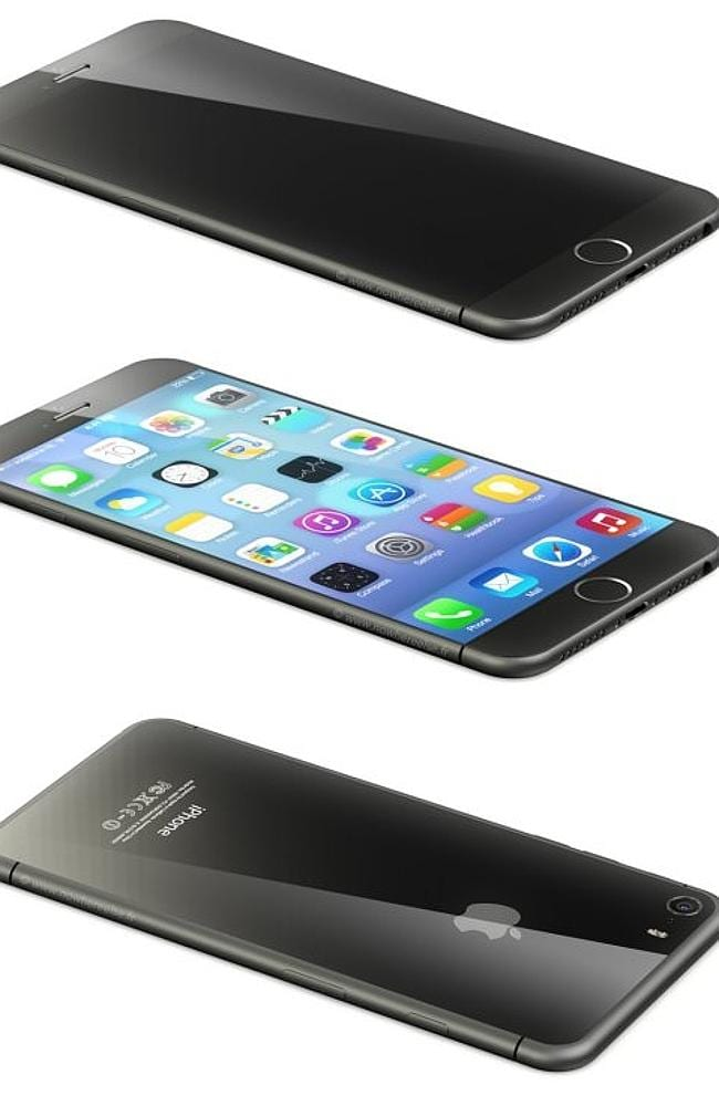 Apple's upcoming phone is expected to resemble the devices of similar brands. Picture: Supplied