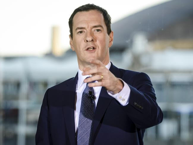 Britain's Chancellor of the Exchequer, George Osborne, has gone after Google for unpaid back taxes. Picture: Ben Birchall/PA via AP