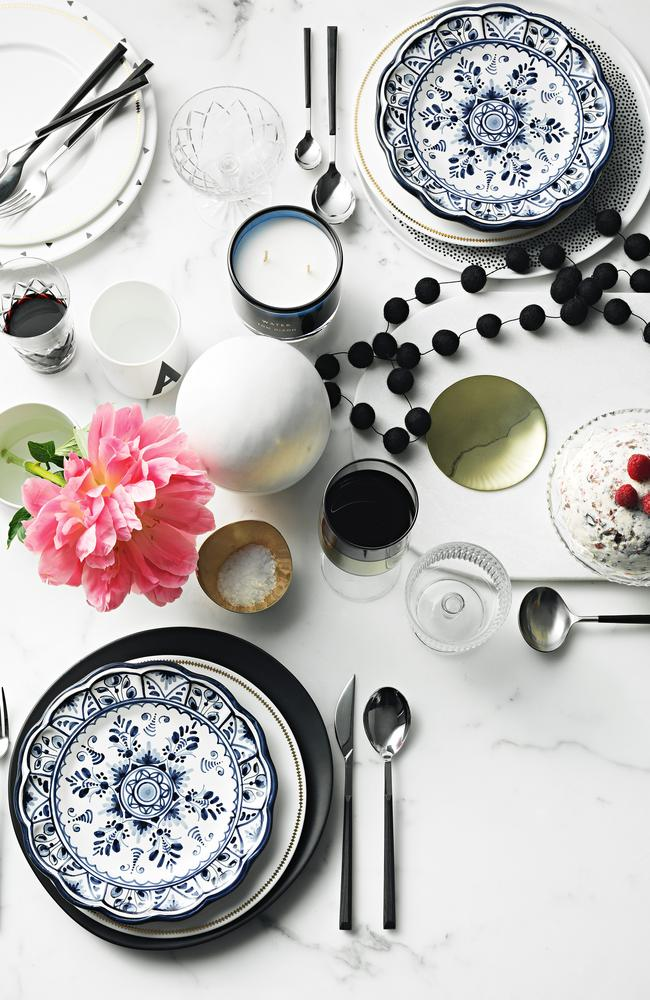 Aleksandra Beare mixes old and new with her understated table setting. Photography by Edward Urrutia. Styling by Aleksandra Beare.