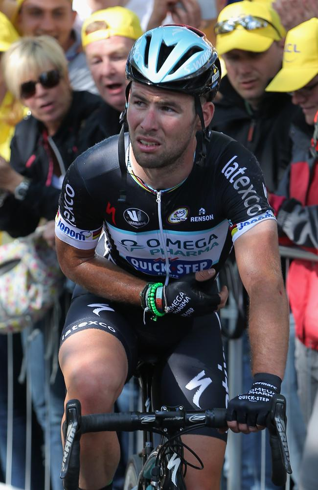 It's unknown whether Mark Cavendish will take his place on the starting line.