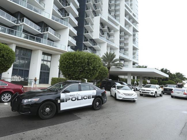 The scene ... Miami's W Hotel, where Bernard Tomic was arrested overnight. Picture: Splash