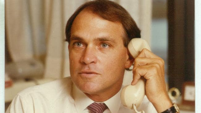 Alan's sons Brian White, pictured, and Paul later joined their father to become the third White generation in the company. Together they made the controversial decision to expand beyond Queensland and introduce franchising.