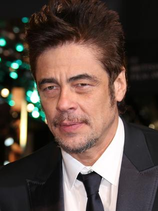 Who will Benicio Del Toro play?