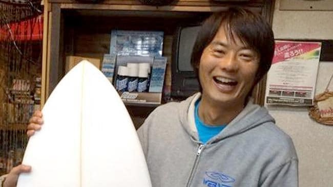 Tadashi Nakahara was killed when he was attacked by a shark in Ballina last year. Source: Facebook
