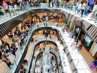 The Emporium shopping centre in Melbourne during the boxing day sales.