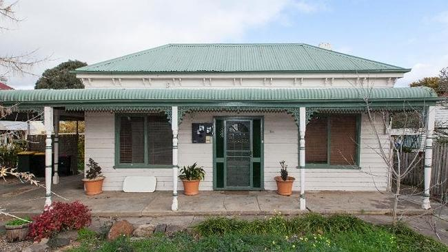 Double take: This period home at 154 High St in Ararat has been converted into two units and is on the market for $199,000.