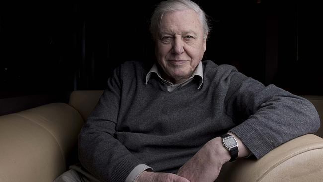Sir David Attenborough delighted a young Perth girl by replying to her hand-written letter.
