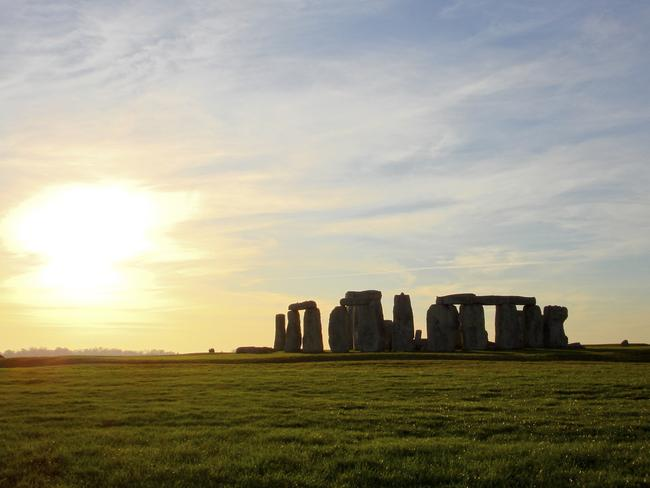Religious landscape ... Was Stonehenge just a part of an enormous religious procession path which covered the Salisbury Plain? Source: Thinkstock.