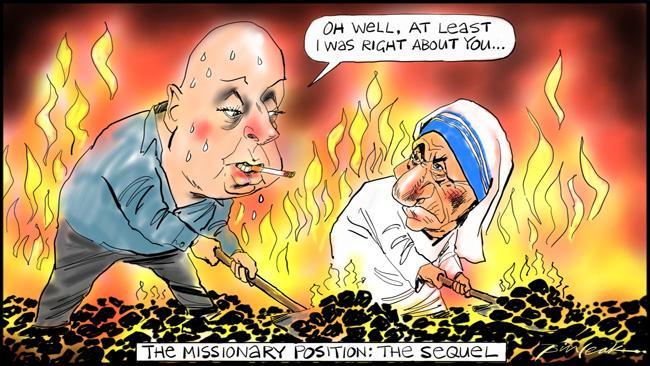 Leak cartoon