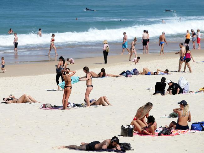 Summer is well and truly here this week. Picture: AAP