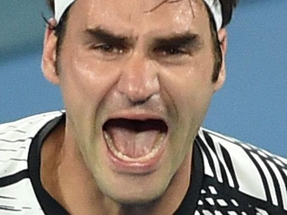 Proof Federer's ego is alive and well