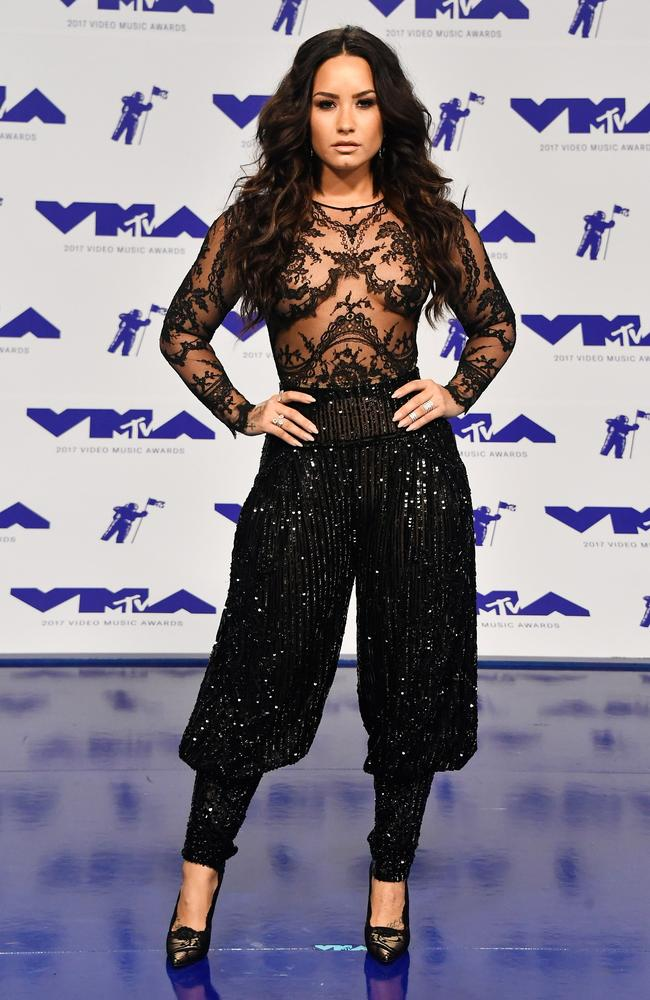 Demi Lovato. Photo: Frazer Harrison/Getty Images/AFP