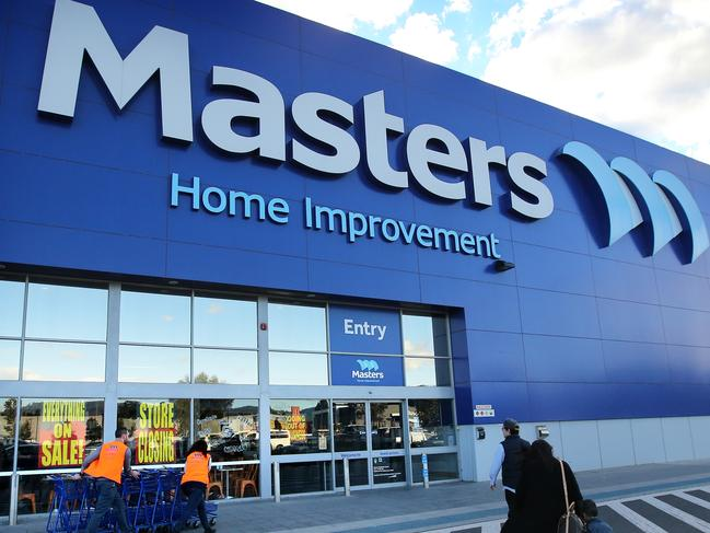 29/08/2016: Closing down sale at Masters Home Improvement store in Knoxfield, Victoria. Stuart McEvoy for The Australian.