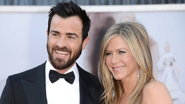 Jennifer Aniston has told friends she is throwing Justin Theroux a huge 42nd birthday bash this weekend - but is she really planning a surprise wedding? Picture: Getty