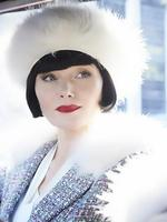 GOLD AND SILVER LOGIE NOMINEE: Essie Davis is nominated for her work on Miss Fisher's Murder Mysteries. Picture: Miss Fisher's costume collection at Old Government House, Parramatta.