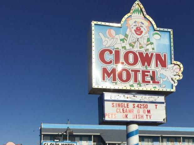 The Clown Motel in Tonopah, Nevada is up for sale