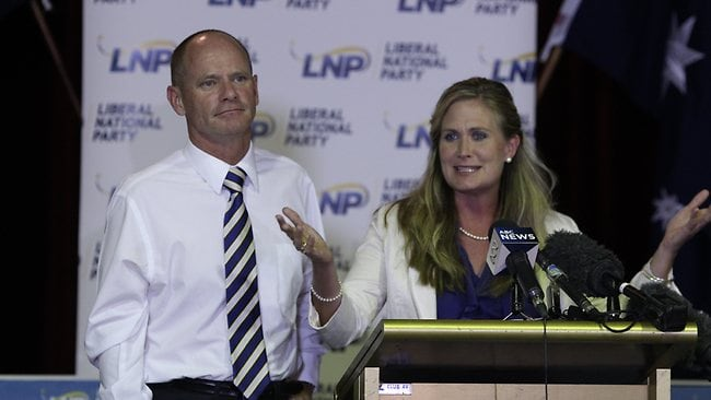 Kerri-Anne Dooley concedes defeat for the LNP.