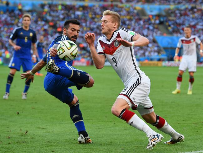 Andre Schuerrle has been dangerous since coming on in the first half.