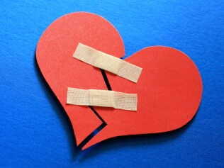 Band-Aid for a broken heart. Image: iStock