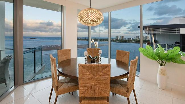 The view from 1002/42 Duporth Ave, Maroochydore. Picture: realestate.com.au.