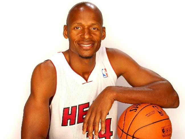The NBA's greatest three-point shooter - and Miami's Ray Allen isn't finished yet.