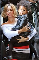 Beyonce and Blue Ivy Carter out and about in NYC in 2014. Picture by: XactpiX / Splash News