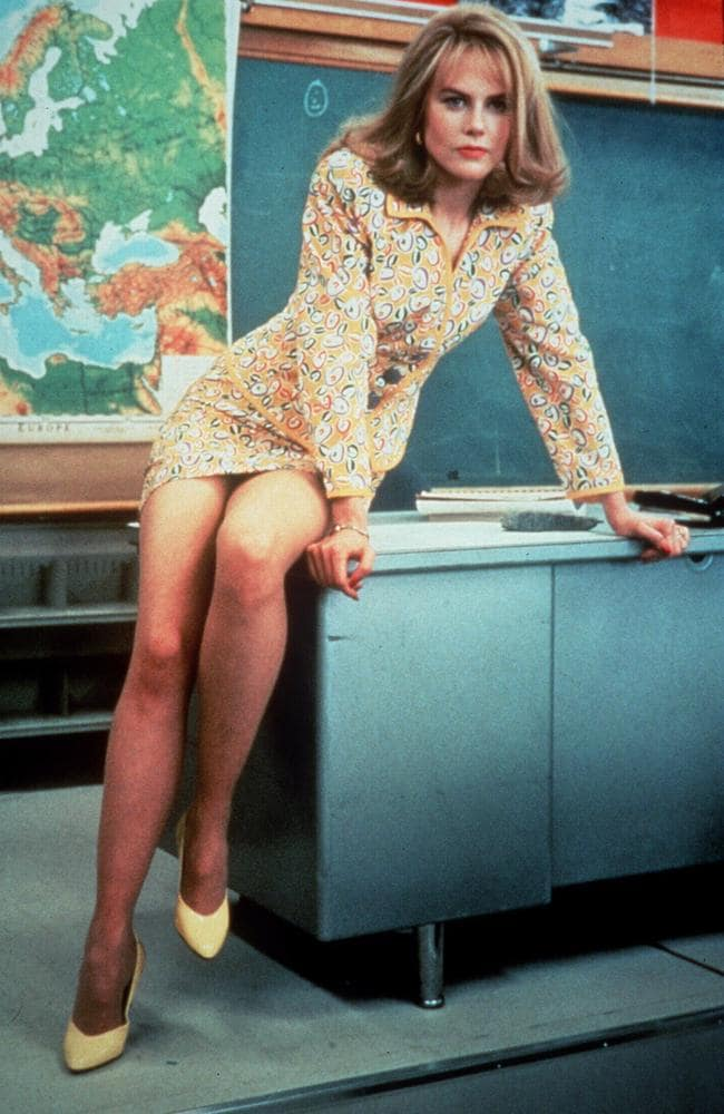 Nicole Kidman in a scene from the 1995 film To Die For.