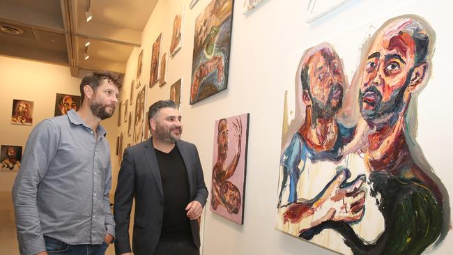 The first major exhibition of paintings by executed drug smuggler Myuran Sukumaran is set to open this weekend as part of the Sydney Festival.