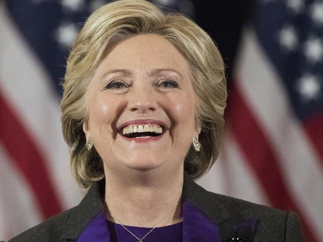 Few give Hillary Clinton any chance of overtaking Donald Trump in a vote recount. Picture: AP