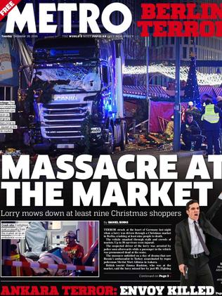 "Metro: ""Massacre at the market""."