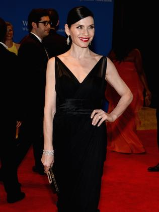Julianna Margulies attends the White House Correspondents' Association Dinner.