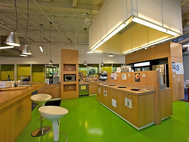 A 'microkitchen' at Google's Californian headquarters.
