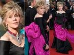 Jane Fonda attends the Premiere of 'Youth' during the 2015 Cannes Film Festival. Pictures: Getty