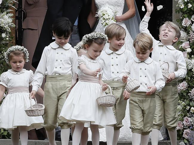 Prince Harry and Meghan Markle will have 10 bridesmaids and pageboys at their wedding. Picture: Kirsty Wigglesworth