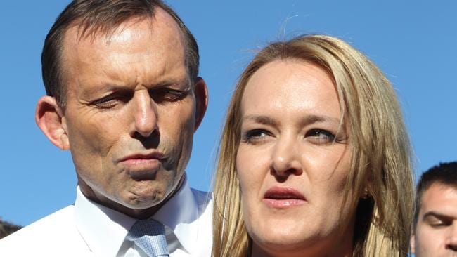 "Opposition Leader Tony Abbott caused controversy when he described candidate Fiona Scott as haivng ""sex appeal""."