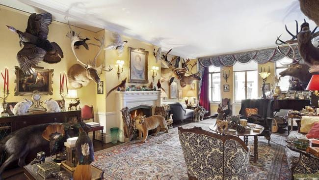And the same room with the full collection on display. Picture: Halstead Property.
