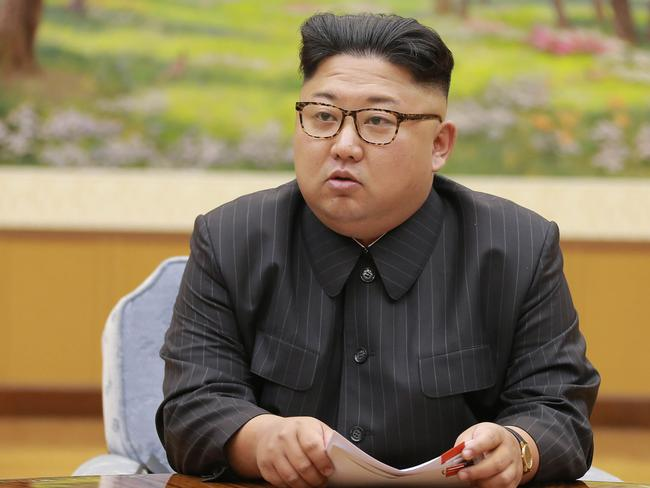 North Korean leader Kim Jong-un sparked global condemnation with his country's latest nuclear blast. Picture: AFP