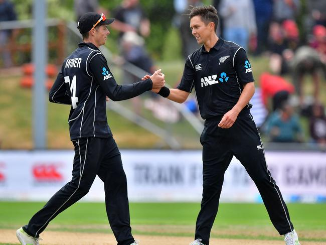 Trent Boult (R) had a field day.