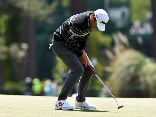 US golfer Keegan Bradley's only win this week is likely to be in the fashion stakes.