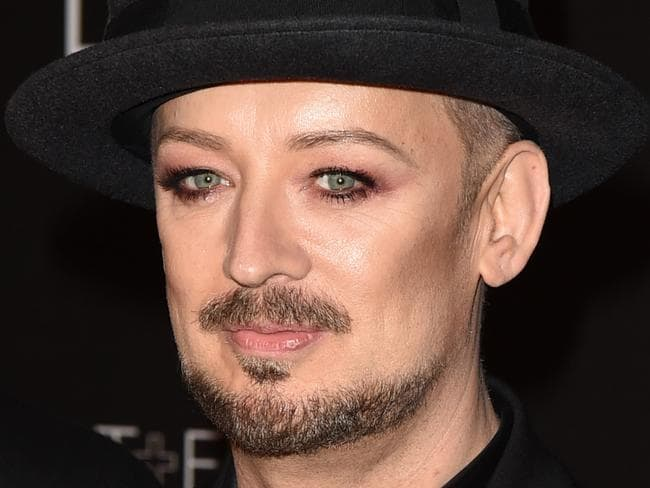 Telling stories ... Boy George is known for his candid comments. Picture: Getty