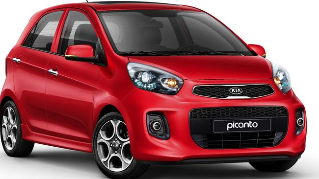 New model ... the Kia Picanto will be in Australian showrooms in April 2016. Picture: Supplied
