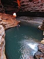 PARKS FOR PEOPLE: Kermit's Pool in the Karijini National Park. Picture: Veronica Wools
