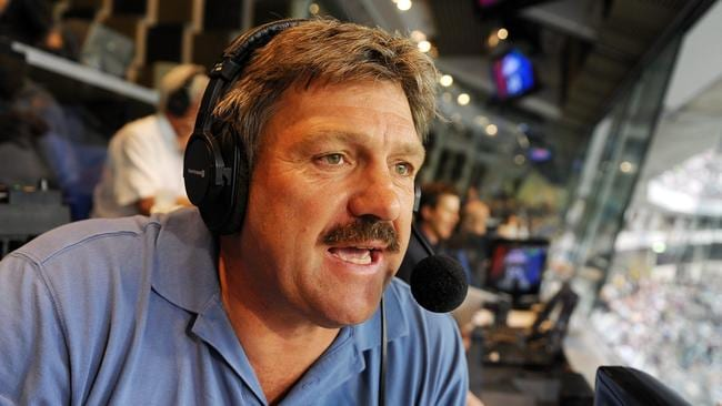 Brian Taylor calling for 3AW.