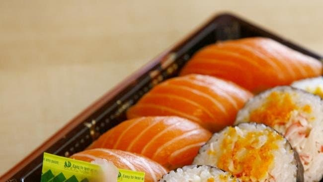 Salmon and California Sushi Rolls. Picture: Supplied