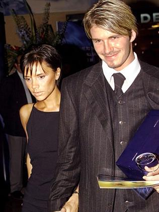 Posh and Becks in 1999.