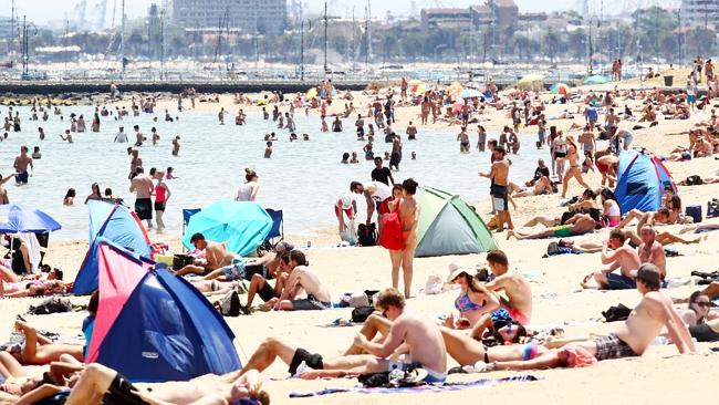 Attractive to many ... Melbourne is a family-friendly city, and St Kilda beach is a popular destination.