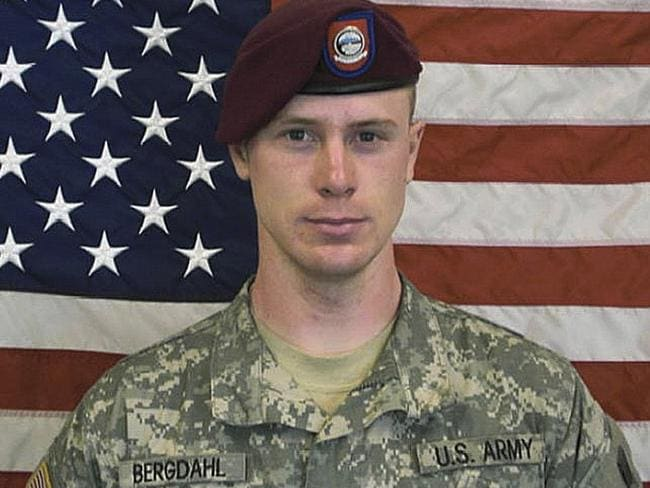 The US Army says former prisoner of war Sgt Bergdahl is now receiving outpatient care at Fort Sam Houston in San Antonio. Picture: AP