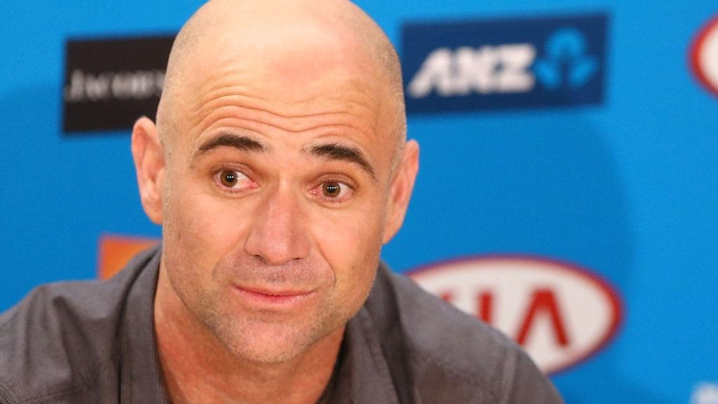 Image result for andre agassi lazy eye