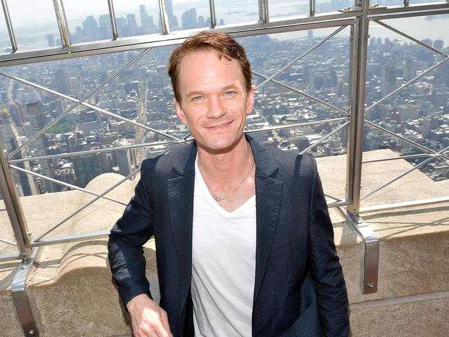 On top of the world ... Neil Patrick Harris is nominated for a Tony Award. Picture: Getty Images
